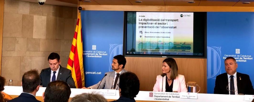 conference about digitalization of transport observatory