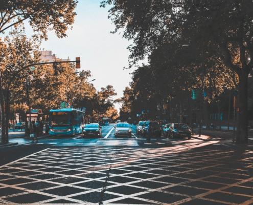 Barcelona city transport