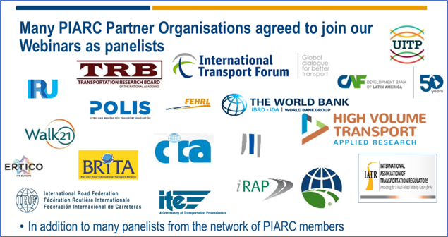 PIARC partner organisations